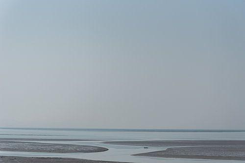 Uitzicht vanaf het grootste eiland in de Perzische Golf | Iran