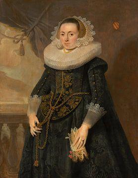 Porträt einer Dame, Pieter Soutman