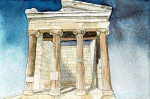 Tempel Nike in Athen von Hayleigh Smith