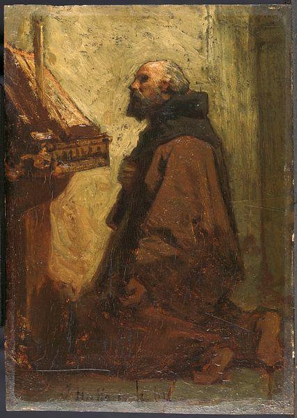 Betender Mönch, Jacob Maris von Meesterlijcke Meesters