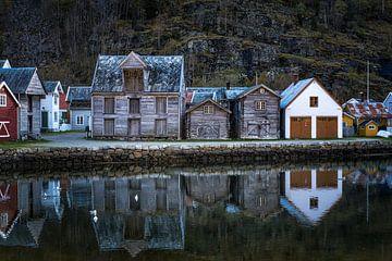 Noorse huisjes  von Jasper den Boer