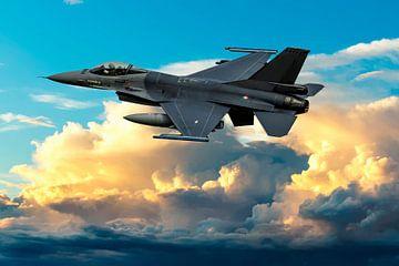 F-16 Fighting Falcon von Gert Hilbink