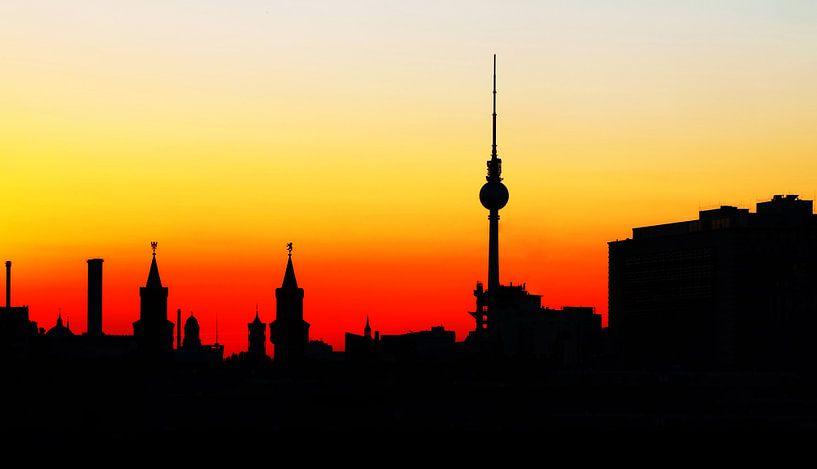 Glissade de la ville de Berlin sur Frank Herrmann