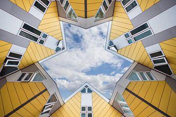 Kubus huisjes von Marcel Derweduwen