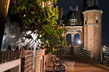 Waterpoort van Sneek in renaissancestijl van Fotografiecor .nl
