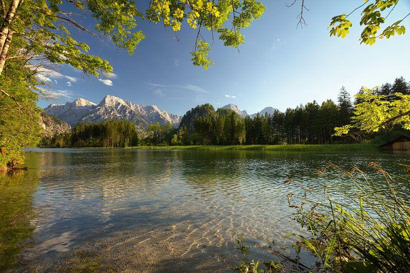 zomerse Alpensee van Silvio Schoisswohl