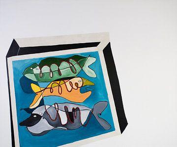 Fish Tank van Rezenne Gidey