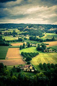 Landscape, Dordogne, France