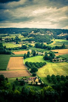 Landscape, Dordogne, France von Rob van der Pijll