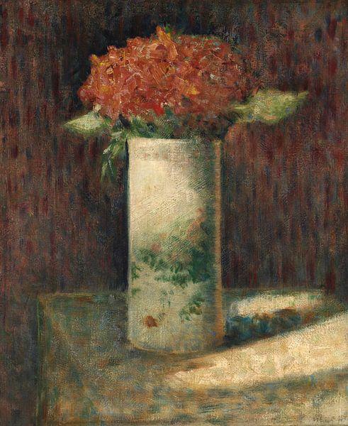 Blumenvase, Georges Seurat von Meesterlijcke Meesters