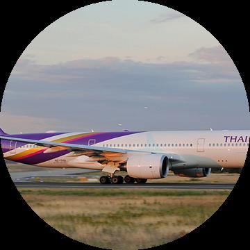 Thaise luchtwegen Airbus A350-900 van rheinmain.from.above