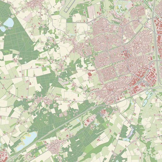 Kaart vanVeldhoven