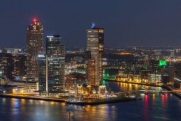 Het zeilschip Eendracht aan de Wilhelminapier in Rotterdam van MS Fotografie | Marc van der Stelt