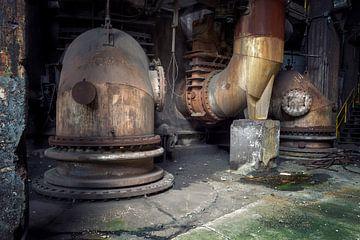 stillgelegte Stahlwerke von Kristof Ven