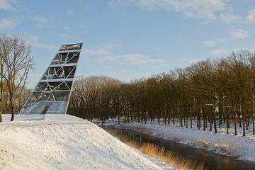 Turm des Pompeius in Halsteren von Sabina Meerman