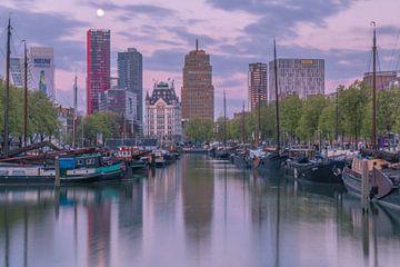 Zonsopgang Haringvliet Rotterdam van