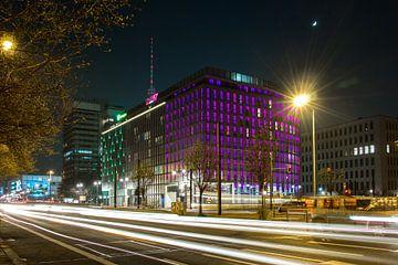 De bruisende stad Berlijn. van