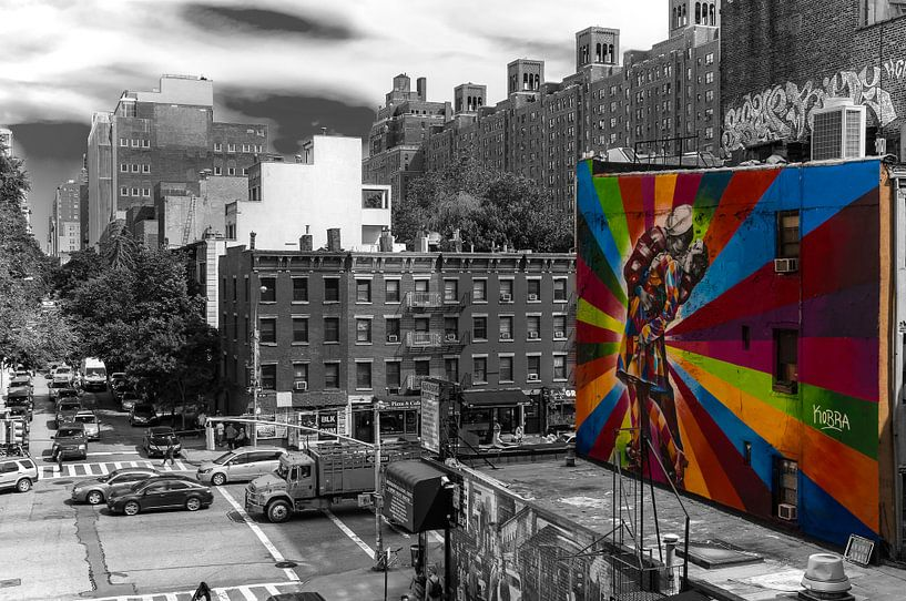 New York  Blick von der High Line van Kurt Krause
