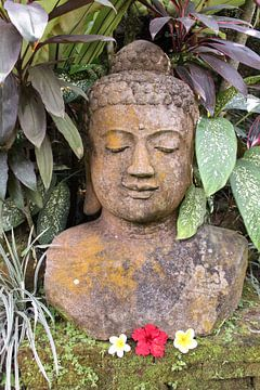 Boeddha beeld op Bali van Map of Joy