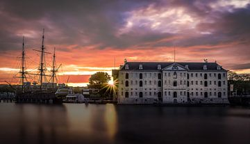 Het Scheepvaartmuseum Amsterdam von Mario Calma