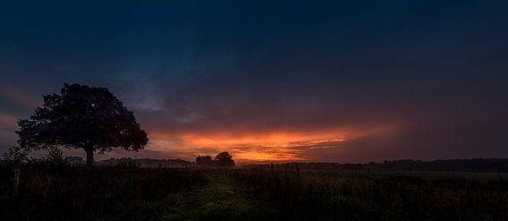 Dalfsen (Millingen) voor zonsopgang