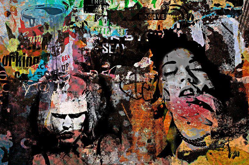 Second grunge wall von PictureWork - Digital artist