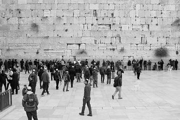 Klaagmuur Jeruzalem van Inge Hogenbijl