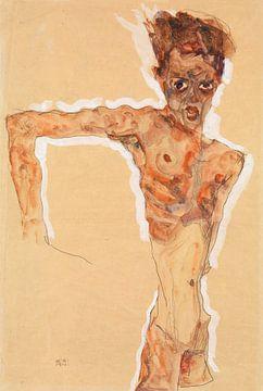 Selbstbildnis, Egon Schiele - 1911