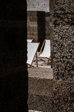 strand stoelen minimalisme van Celisze. Photography