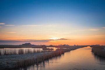 Natuurgebied Hogezandskil  van Johan Habing