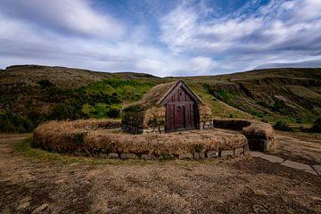 Maison de la tourbe islandaise
