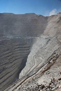 Chuquicamata, Offene Mine bei Calama, Chile von A. Hendriks