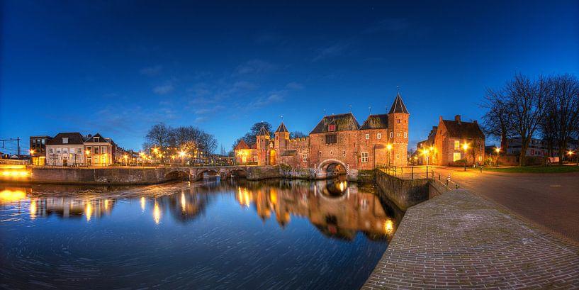 Medieval gates (panorama) sur Sjoerd Mouissie
