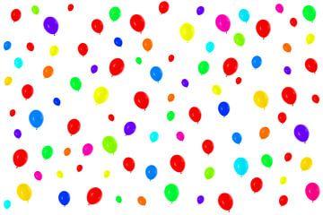 Kleurrijke ballonnen van BVpix