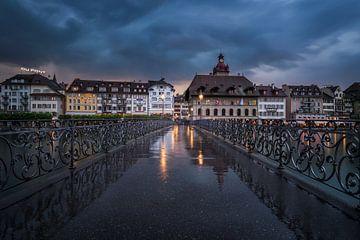 Luzern: Rathaussteg van