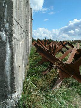 bunkers bij Blavand Denemarken van tiny brok