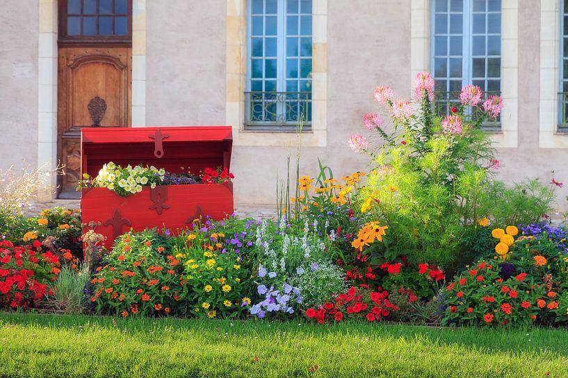 Een schatkist vol bloemen in Frankrijk von Dennis van de Water