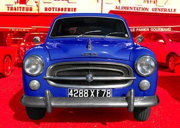 Peugeot 403 in bleu-blanc-rouge von aRi F. Huber