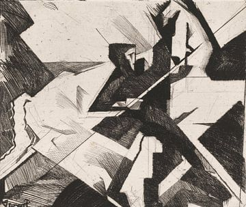 Reijer Stolk, Mensch und Pferd, 1921