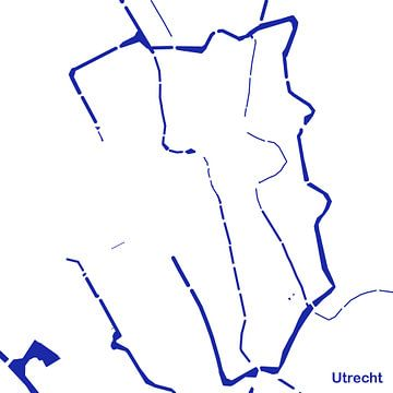 Waterkaart Utrecht