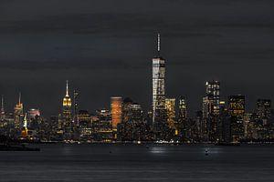 Financial Distrikt  in Down Town Manhattan    New York van