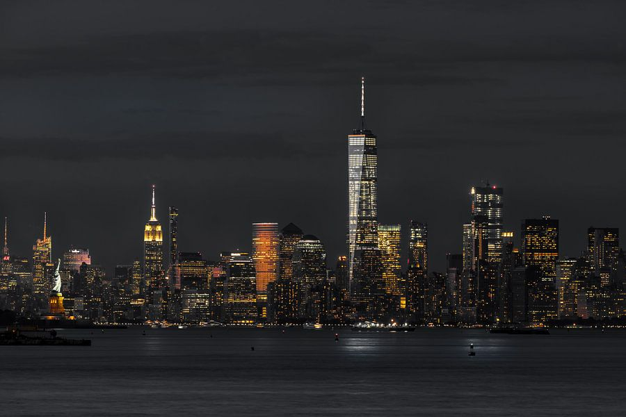 Financial Distrikt  in Down Town Manhattan    New York