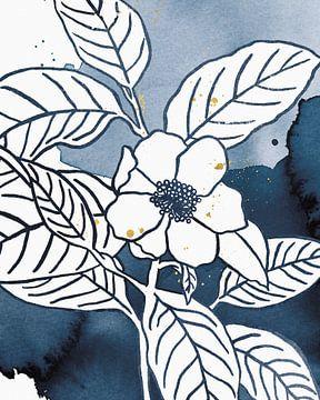 Indigo bloeit ik, Wild Apple Portfolio van Wild Apple
