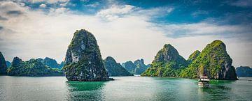 Kreuzfahrt durch Ha Long Bay, Vietnam von Rietje Bulthuis