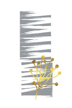 Minimalistisches Frühlingserwachen Nr. 2 von Melanie Viola