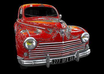 Peugeot 203 Art Car von aRi F. Huber
