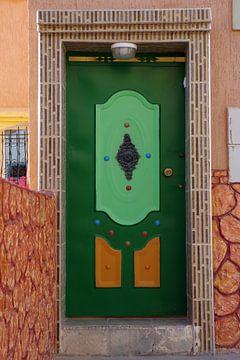 Marokkaanse deur van Andrew Chang