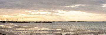 Mooie panoramafoto van Neeltje Jans van Yvonne Prinsen