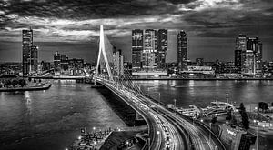 Skyline Rotterdam by Night  - Rotterdams Finest !  ZW