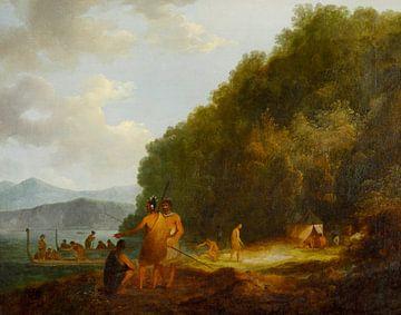 Ship Cove, détroit de la Reine-Charlotte, John Webber